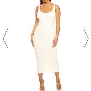 Naked wardrobe snatched dress